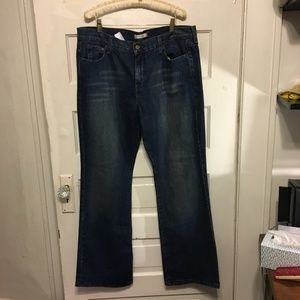 Levi's 515 Bootcut Sz 16 M Lightly Distressed